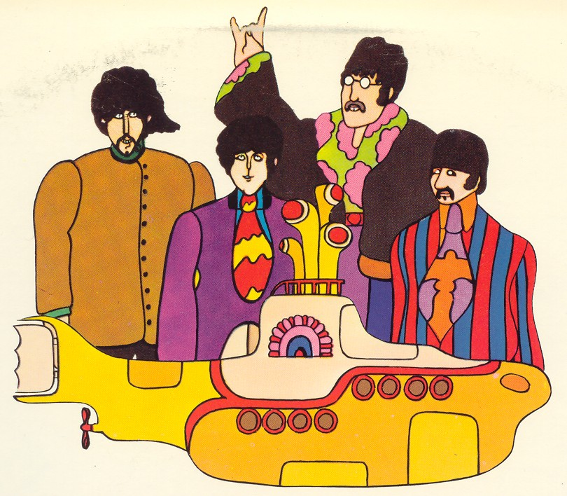 beatles-yellow-submarine-characters