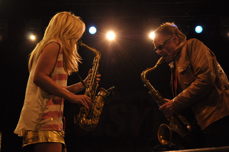 Hans Dulfer band ft. Candy Dulfer
