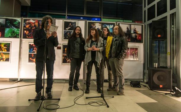 """Otvorena izložba """"Rock Momenti"""" u Domu omladine Beograda"""