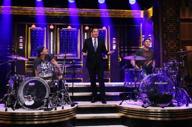 chad-smith-will-ferrell-drum-battle-jimmy-fallon