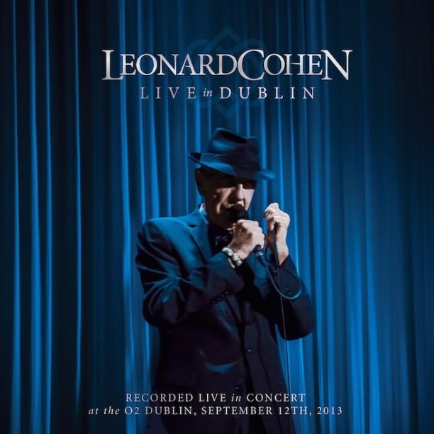 live-in-dublin Leonard Cohen