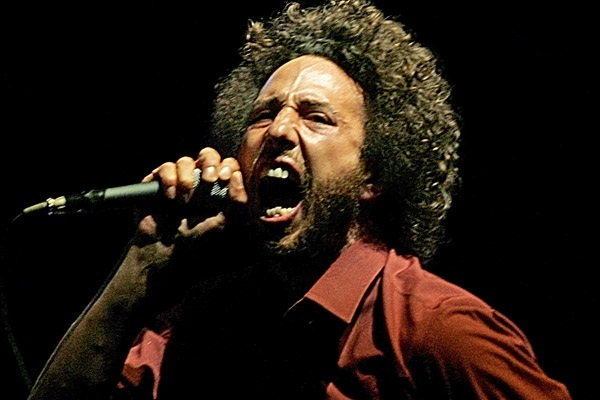 11. Zach de la Rocha from Rage Against the Machine.