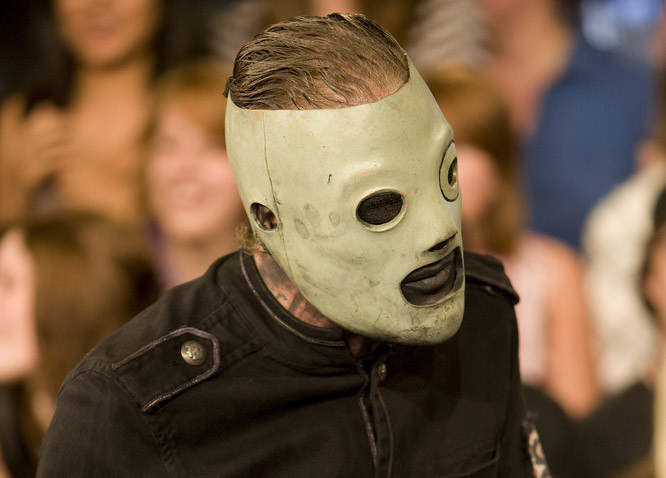 Slipknot's Corey Taylor and Shawn Crahan Visit MuchOnDemand at MuchMusic Headquarters