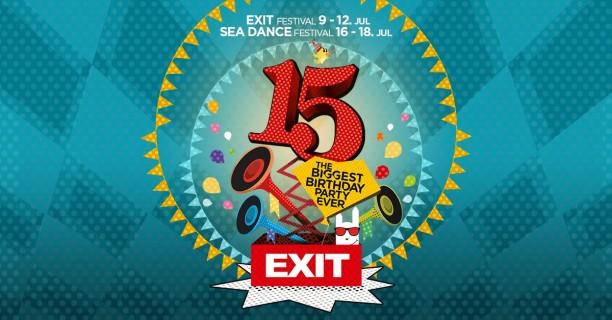 Exit festival od 9. do 12. jula slavi 15. rođendan