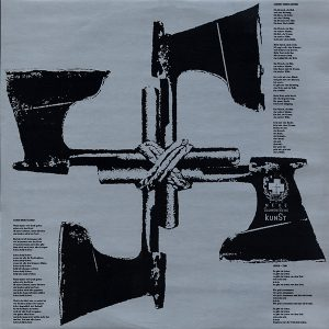 Sporna unutrašnja strana omota za Opus Dei Laibacha