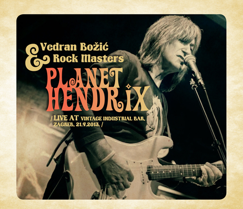 Vedran Božić i Rock Mastersi sviraju Jimija Hendrixa