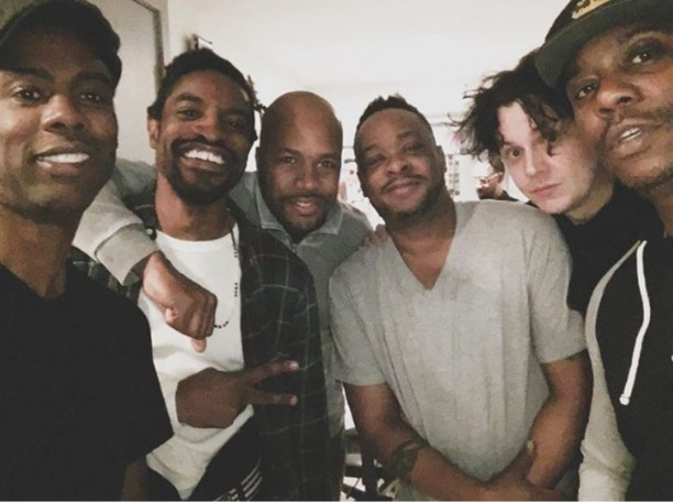 Andre 3000, Chris Rock, Jack White, Tribe Called Quest