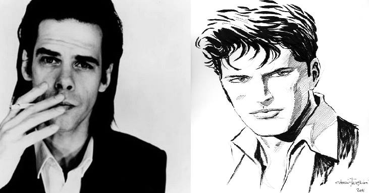 Nick Cave kao Dylan Dog