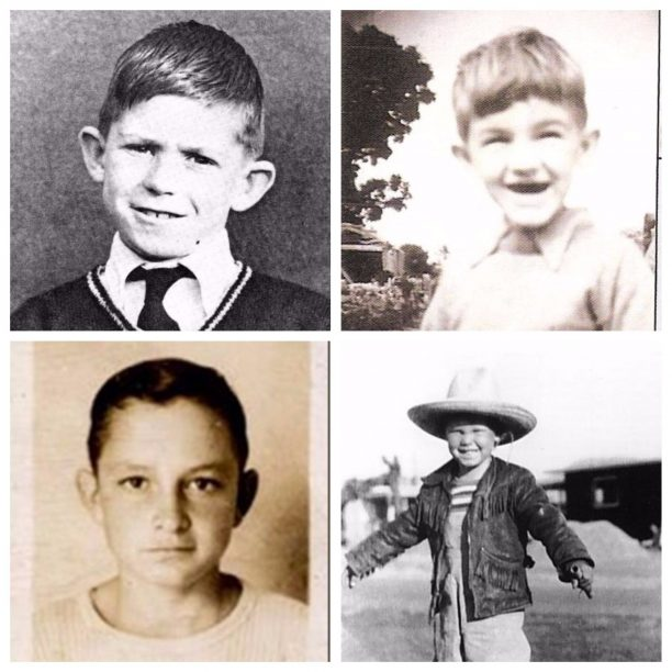 Keith Richards, Lemy Kilmister, Johny Cash, Jim Morison