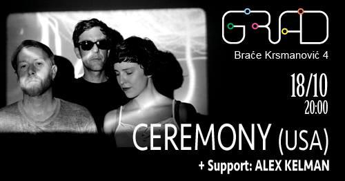 Američki sastav Ceremony u Srbiji
