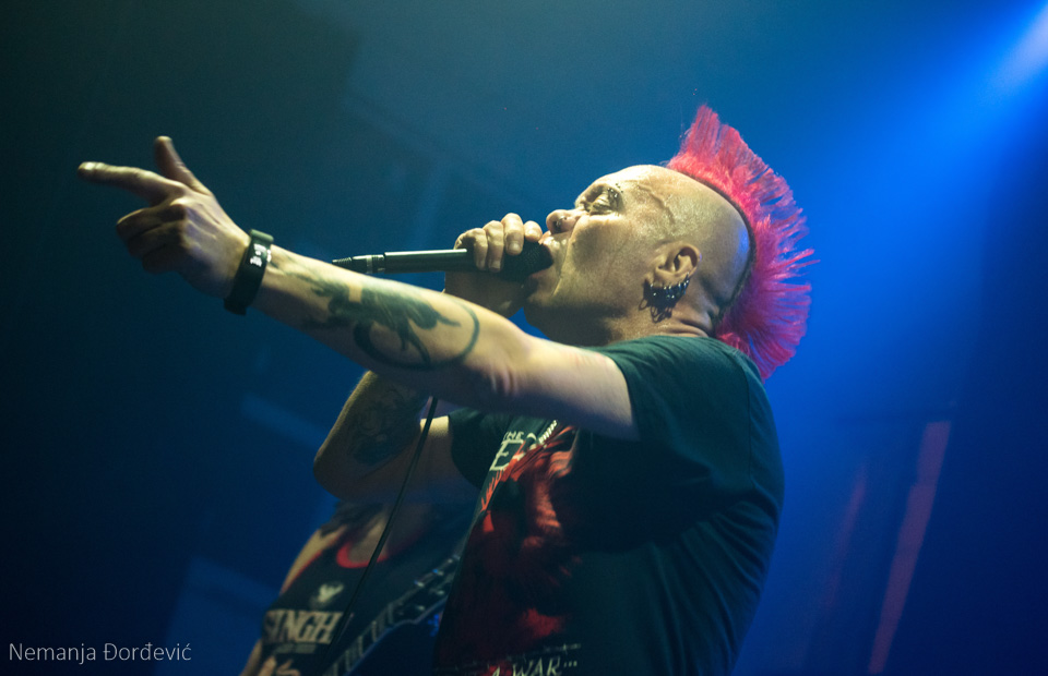 The Exploited SKCNS Fabrika Novi Sad