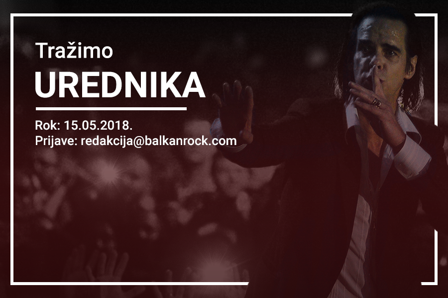 Konkurs za urednika beogradske redakcije Balkanrocka
