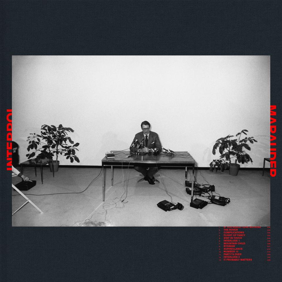 Interpol Marauder Omot albuma