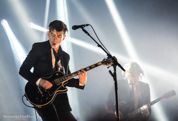 Arctic Monkeys na INmusic festivalu