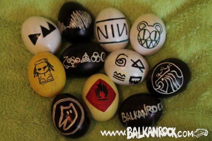 Balkanrock R'n'R uskršnja jaja (foto)