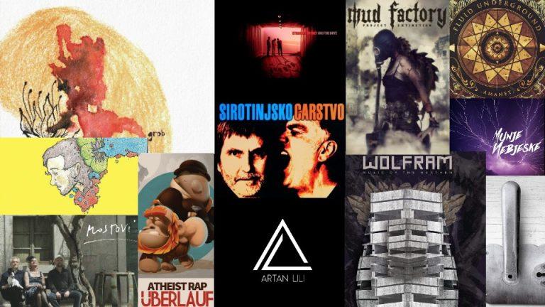 Balkanrock izabrao najbolje u 2015. godini: Top 45 regionalnih albuma