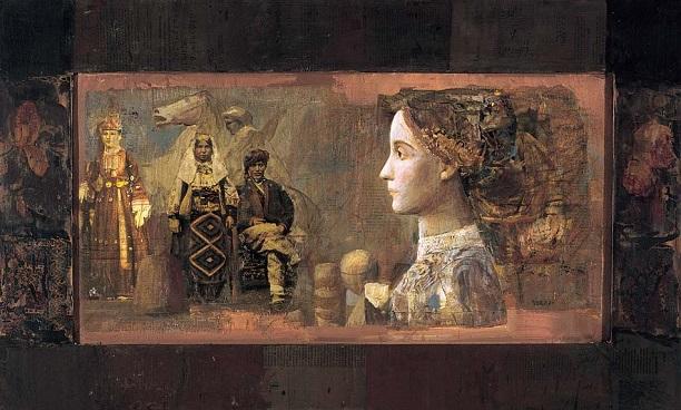 """Mersad Berber, """"Profil sa starom razglednicom"""""""