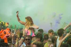 Sziget Colour Party