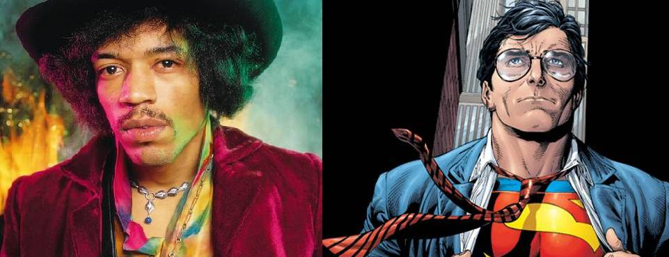 Jimi Hendrix kao Superman