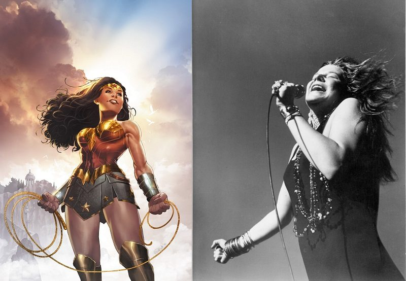 Janis Joplin kao Wonder Woman
