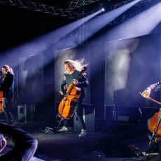 Apocalyptica wallapaper photo concert belgrade