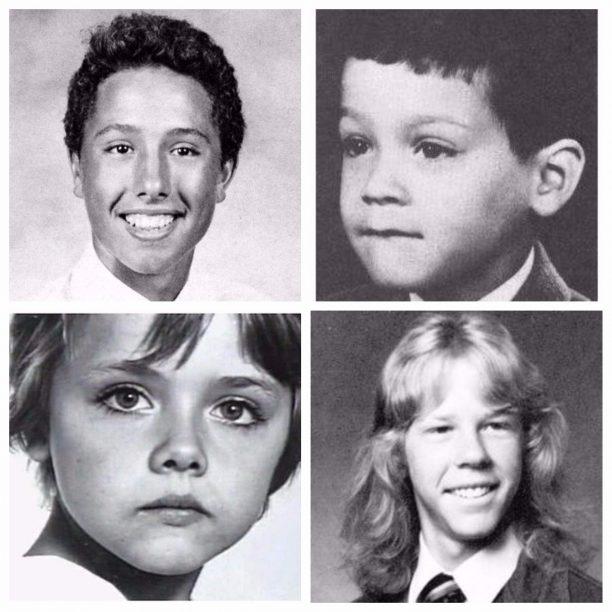 Zach de la Rocha, Eddie Van Halen, Lars Ulrich, James Hetfield
