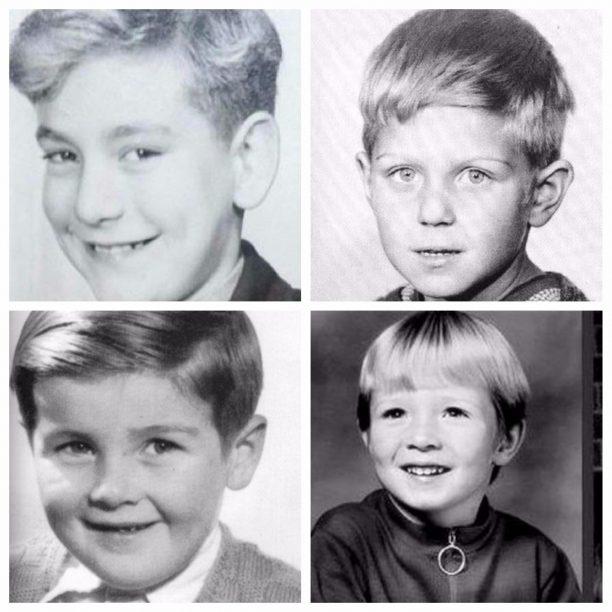 Robert Plant, Paul Simon, John Bonham, Scott Weiland