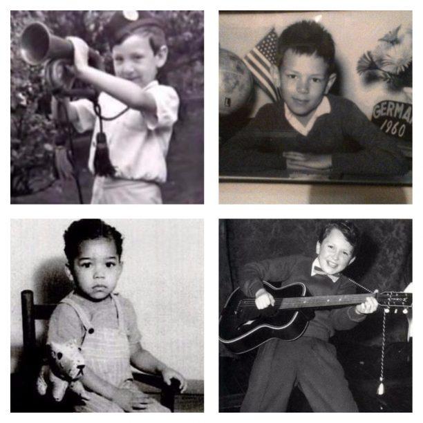 Pete Townshend, Dee Dee Ramone, James Brown, Jimy Page