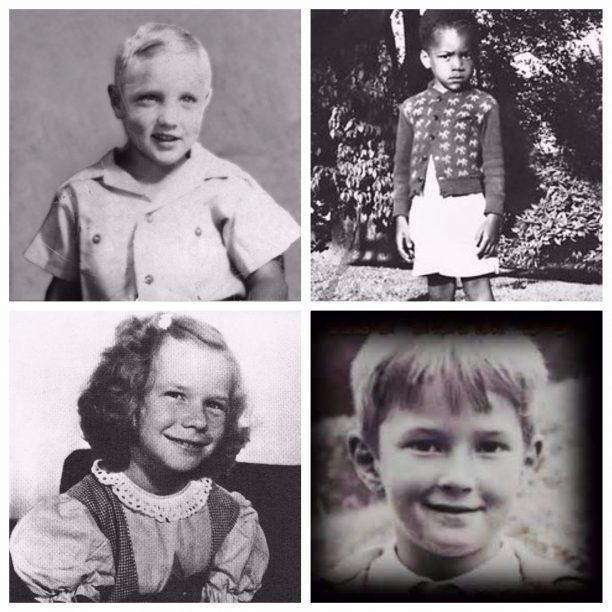 Elvis Presley, Jimi Hendrix, Janis Joplin, Eric Clapton