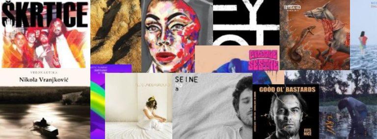 Balkanrock izabrao najbolje u 2017. godini: Top 30 regionalnih albuma