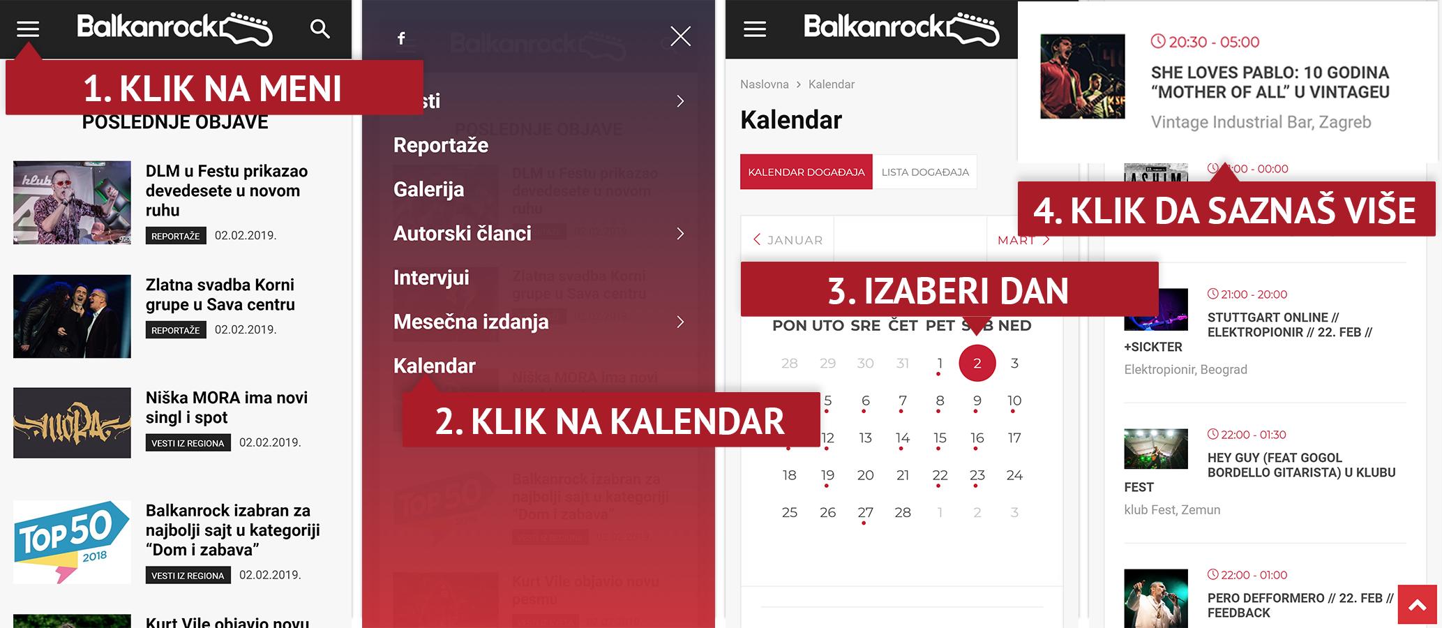 kalendar događaja balkanrock svirke u beogradu zagrebu gde kad i ko koncerti događaji mobile mobilni sajt