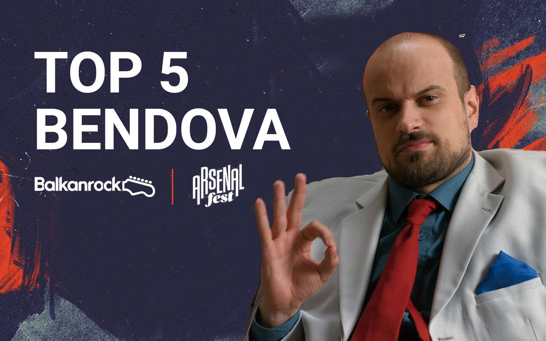 top 5 bendova arsenal fest vojko v