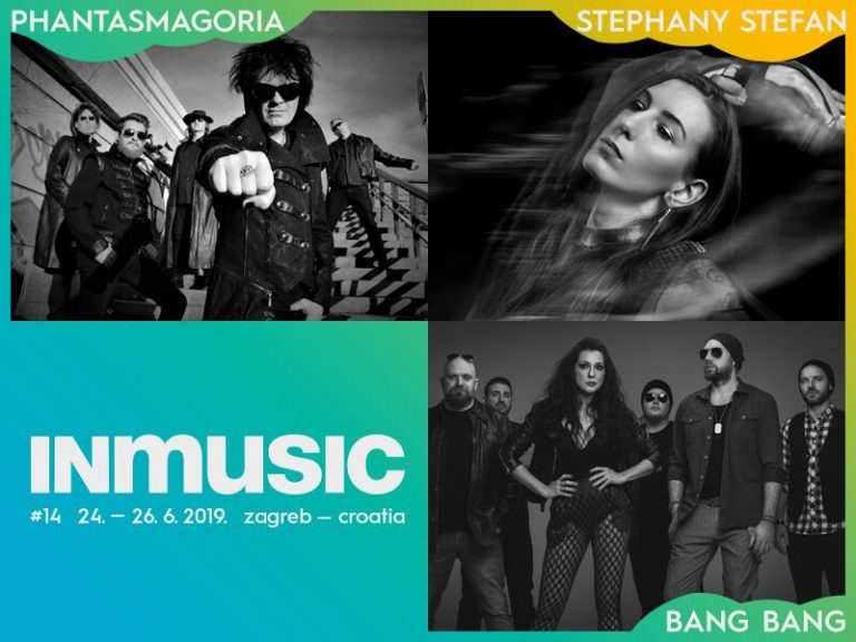 Bang Bang, Phantasmagoria i Stephany Stefan nova imena 14. INmusic festivala