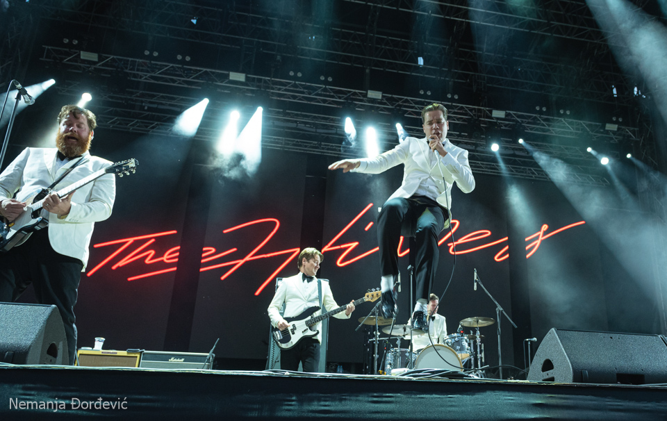 The Hives Inmusic festival Jarun Zagreb