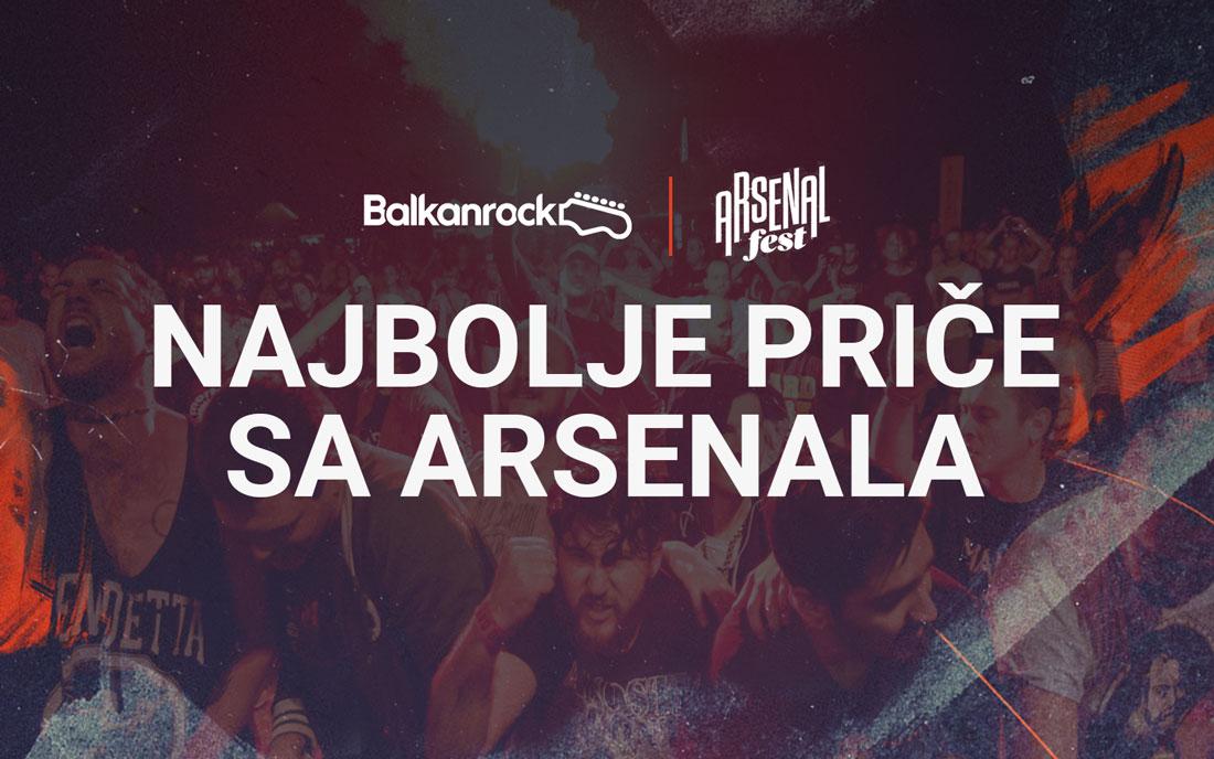 Arsenal najbolje priče pice nagradna igra festival muzika kragujevac dani izvođači live uživo