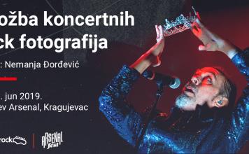Nemanja Đorđević Izložba rock fotografija Arsenal fest