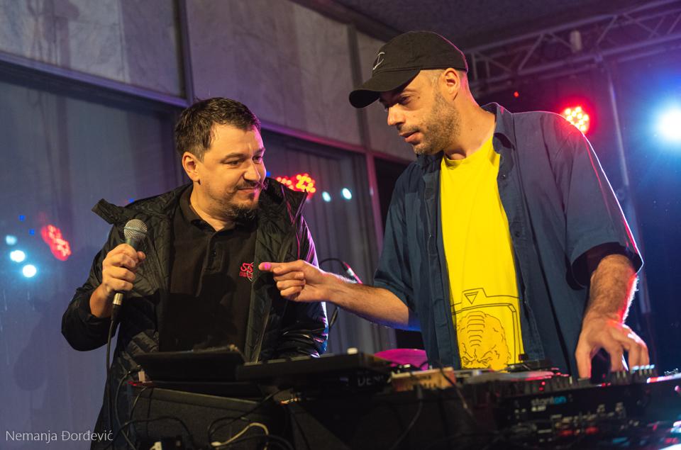 DJ Ljuban Muzej Jugoslavije Leto u muzeju Beograd