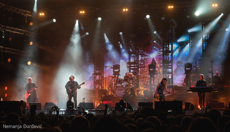 The Cure Exit festival Novi Sad