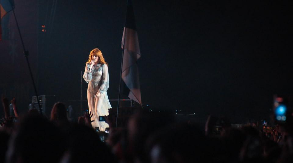 Florence + Machine Sziget fesival Budmipešta