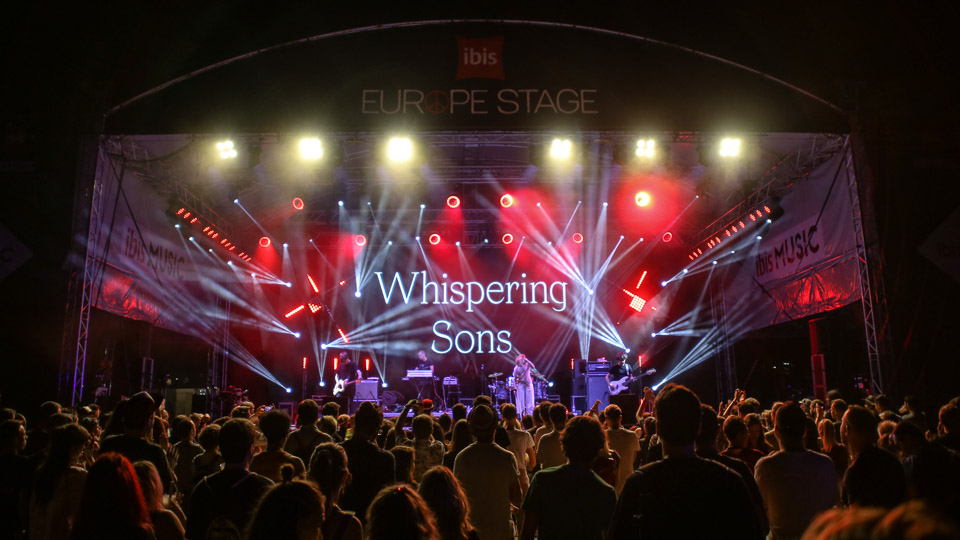Whispering Sons Sziget Budimpešta