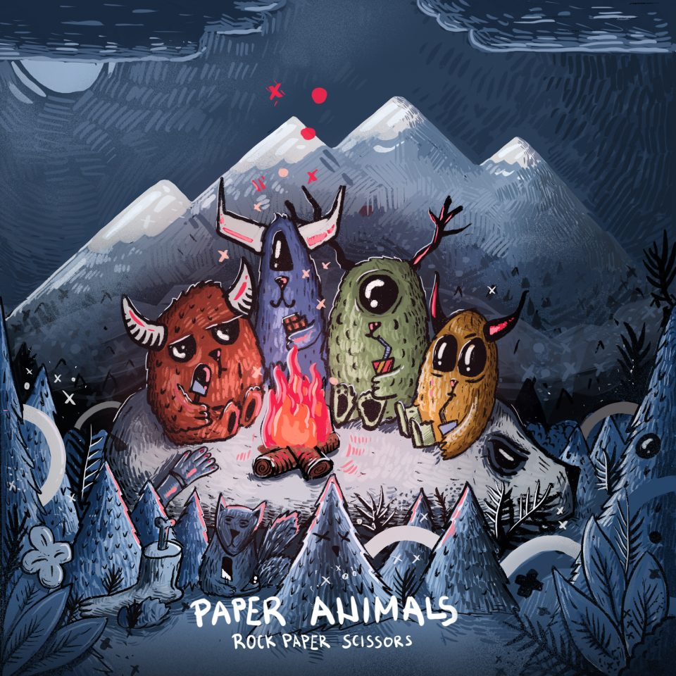 Paper Animals -  Rock Paper Scissors