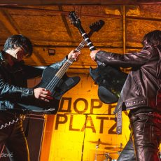 James Leg Guitar Wolf Dorćol Platz Beograd