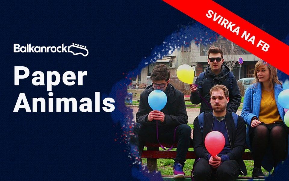 Paper Animals Balkanrock Live