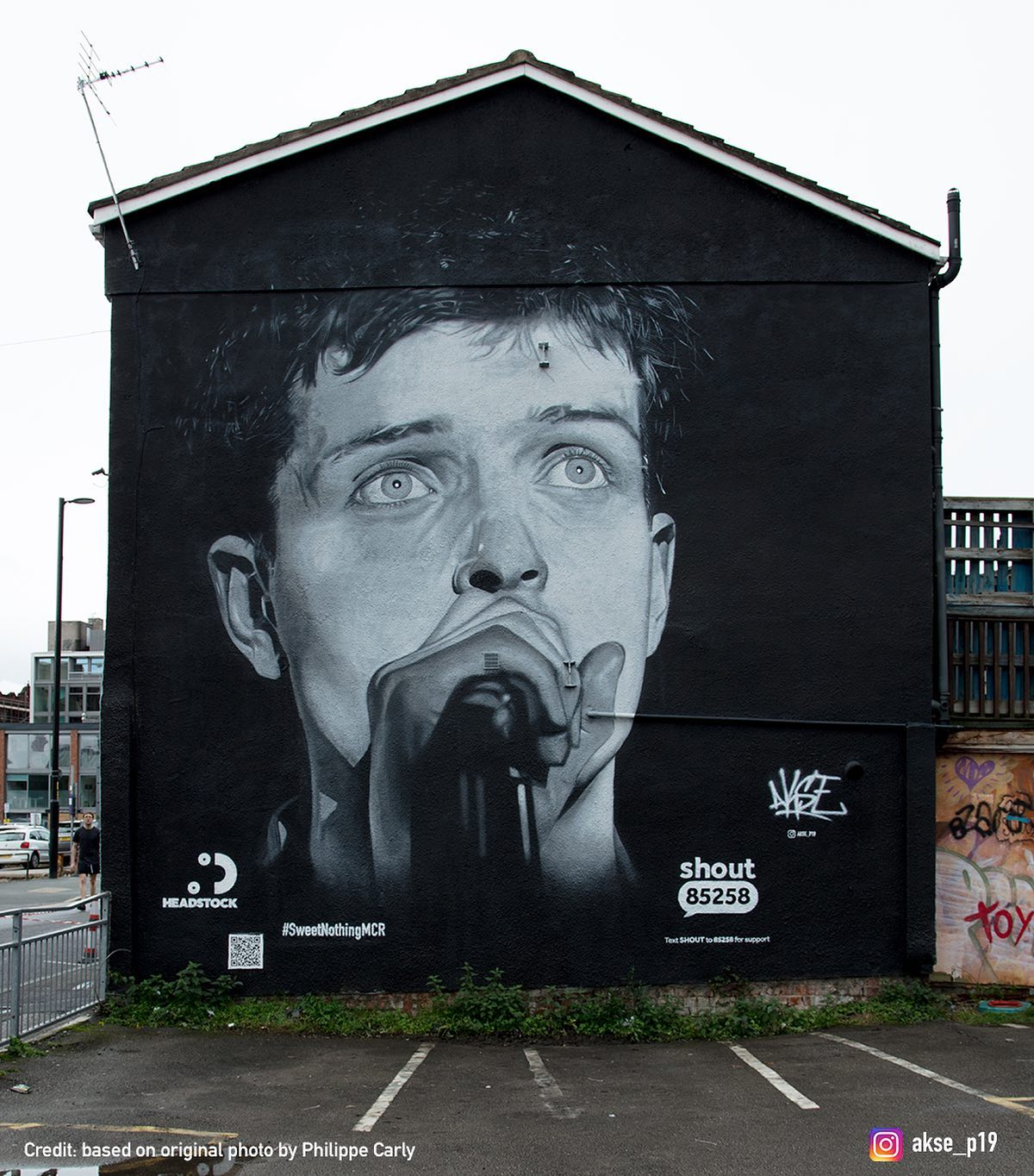 ian curtis manchester world mental health day
