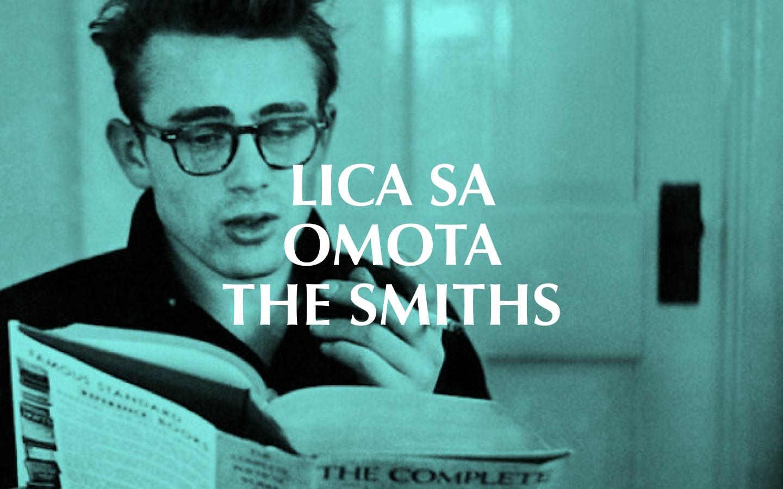 Lica sa omota The Smiths - James Dean