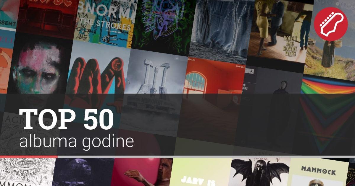 Balkanrock Top 50 albuma godine albums of the year