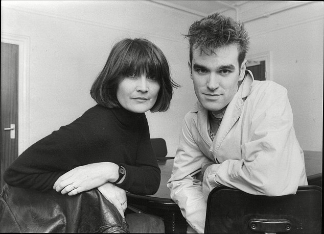 Sandie Shaw and Morrissey