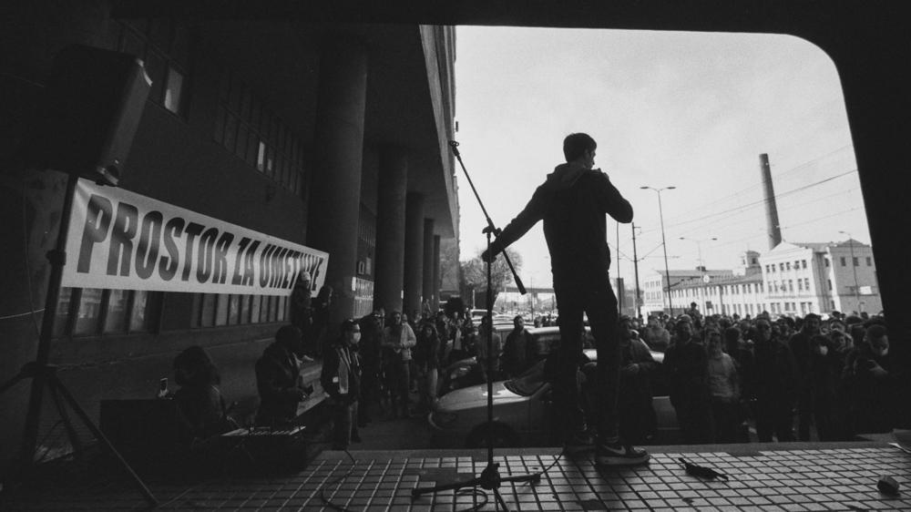 Andreja Marković Venator BIGZ Protest Prostor za umetnike fotografije galerija Beograd