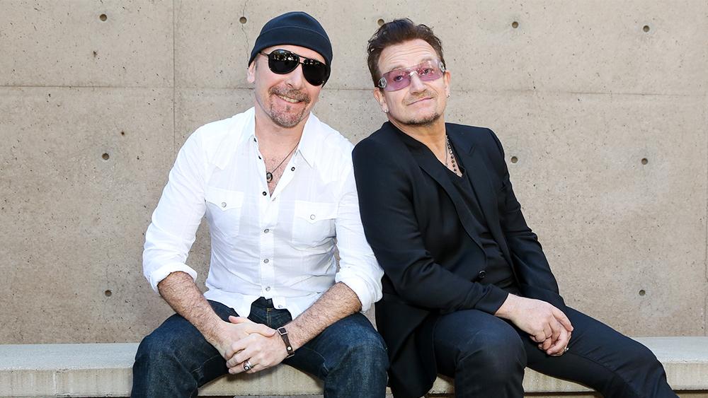 Bono i the Edge U2