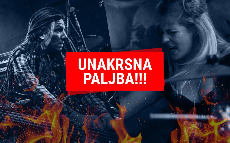 Unakrsna paljba Larska Nemesis Selena Simić Luka Stoisavljević War is On Cant Steal It